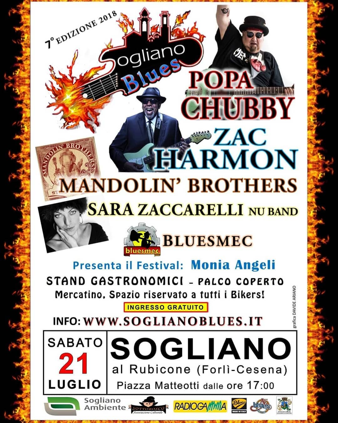 monia angeli al sogliano blues