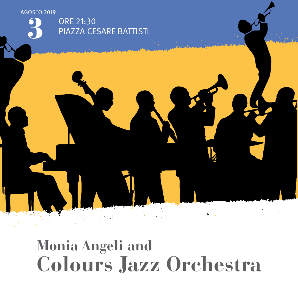 Monia Angeli and Colours Jazz Orchestra